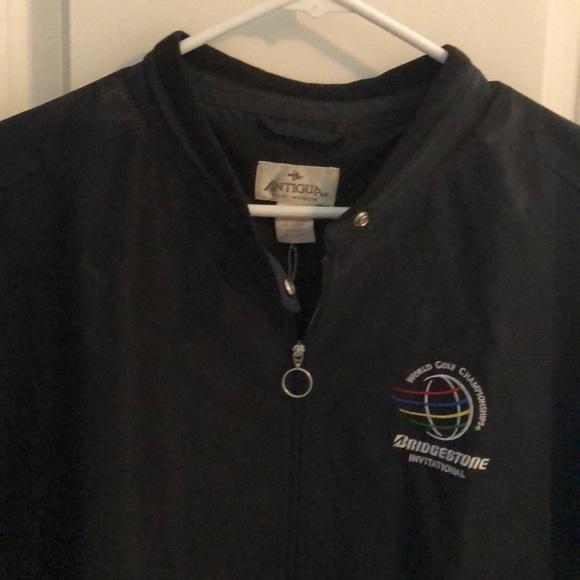 Antigua Women s XL Black Golf Jacket 29fe1943c